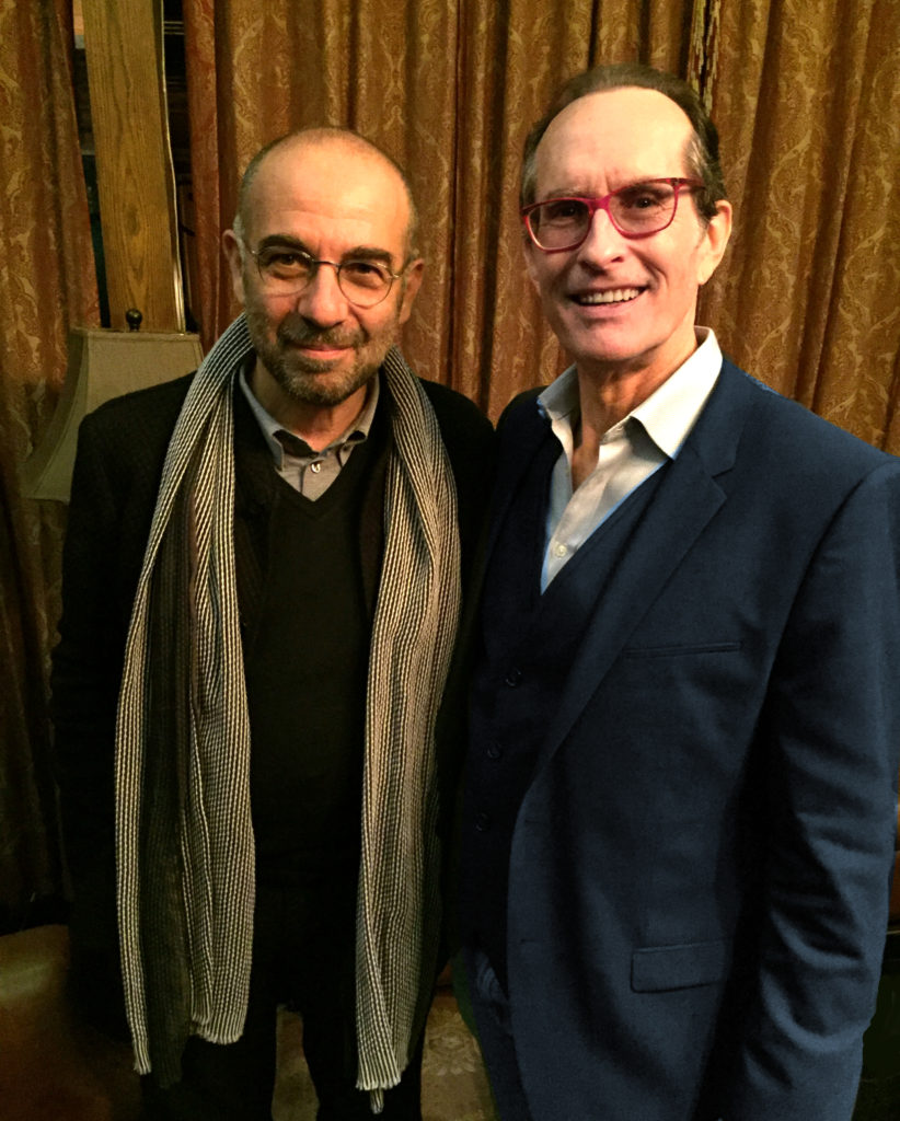 Giuseppe Tornatore and David Twohy, Beijing, April 2016